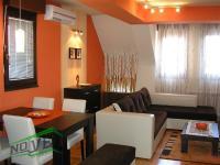 Se izdava namesten stan vo Skopje, Kisela Voda so povrshina od 60 m2.  Ekstra: Klima, Lift, Nova Zgrada.  Cena: 260 EUR