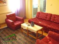 Se izdava namesten stan vo Skopje, Centar so povrshina od 60 m2.  Ekstra: Centralno Parno, Klima.  Cena: 250 EUR
