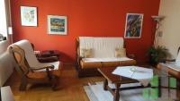 Se izdava namesten stan vo Skopje, Debar Maalo so povrshina od 80 m2.  Ekstra: Centralno Parno, Renoviran, Garaza.  Cena: 350 EUR
