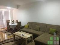 Se izdava namesten stan vo Skopje, Centar so povrshina od 60 m2.  Ekstra: Klima, Sopstveno parno, Lift, Nova Zgrada.  Cena: 300 EUR