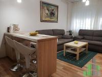 Se izdava namesten stan vo Skopje, Centar so povrshina od 40 m2.  Ekstra: Klima, Centralno Parno, Renoviran.  Cena: 250 EUR