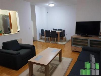 Furnished apartment for sale in Skopje, Karposh 4 with living area of 65 m2.  Extras: Central Heating, Elevator, Parking, Renovated.  Cost: 80500 EUR