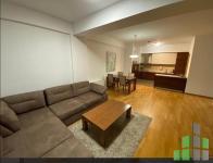 Se izdava namesten stan vo Skopje, Vodno so povrshina od 105 m2.  Ekstra: Sopstveno parno, Lift, Parking.  Cena: 700 EUR