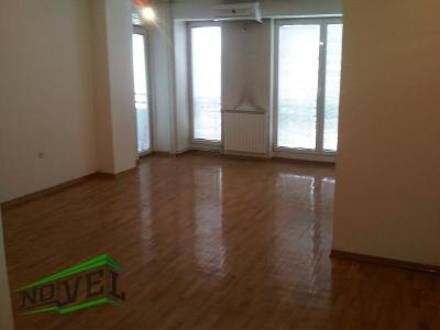 Empty office for rent in Skopje, Centar with living area of 70 m2.  Extras: Central Heating, Elevator, New Building, AC.  Cost: 550 EUR