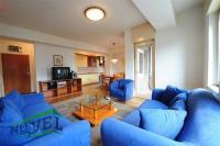Se izdava namesten stan vo Skopje, Centar so povrshina od 60 m2.  Ekstra: Lift, Centralno Parno.  Cena: 300 EUR