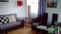 Se izdava namesten stan vo Skopje, Centar so povrshina od 55 m2.  Ekstra: Centralno Parno.  Cena: 250 EUR